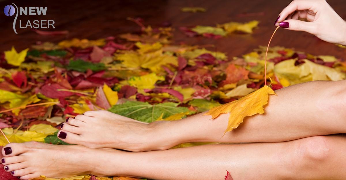 Ventajas de la depilación láser en otoño